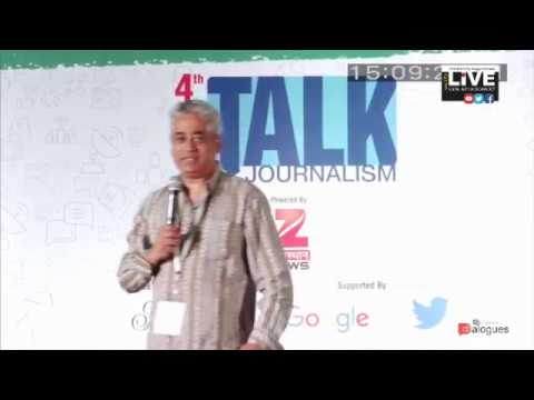 """#Dialogues -#TJ2017  RAJDEEP SARDESAI -""""We separate Kashmir from us on the name of nationalism"""""""