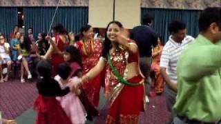 www.nepalmother.com presents Nepali Teej geet dance 2009 Manassas USA part - 15