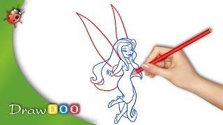 Silvermist from Disney Fairies Drawing Tutorial