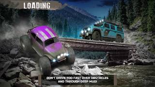 4x4 Offroad: Dark Night Racing ios gameplay 2