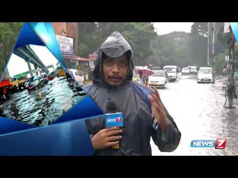 Residential areas in Ashok Nagar flooded : reporter update | News7 Tamil