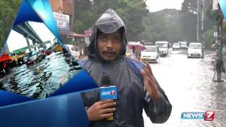 Residential areas in Ashok Nagar flooded : reporter update | News7 Tamil