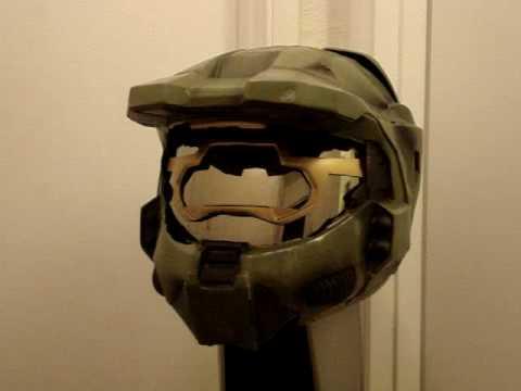 Halo 3 Master Chief CUSTOM Motorcycle Helmet Legendary Edition  YouTube