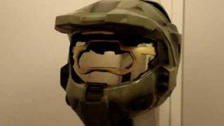 Halo 3 Master Chief CUSTOM Motorcycle Helmet (Legendary Edition)