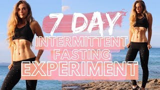 7 DAY INTERMITTENT FASTING EXPERIMENT   Before & After Body Transformation   A Fat Loss Miracle?
