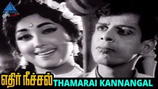 Thamarai kannangal song from ethir neechal old movie on pyramid glitz music. ft. nagesh, r muthuraman, sowcar janaki and jayanth...