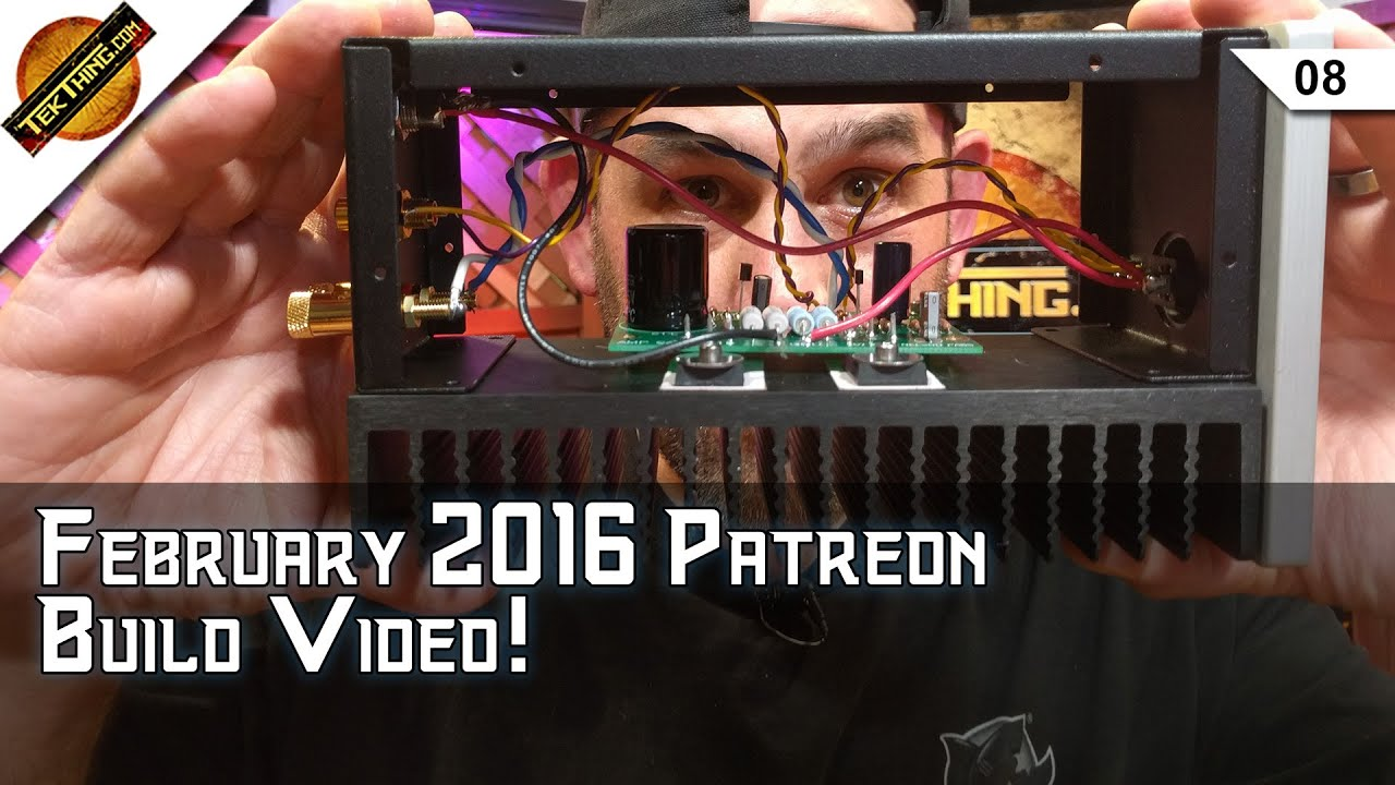 February 2016 Patreon Build Video: Amp Camp Amp Dual Monoblocks!