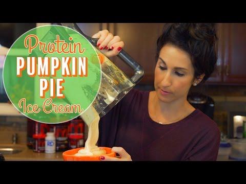 Protein Pumpkin Pie Ice Cream | HIGH VOLUME LOW CALORIE