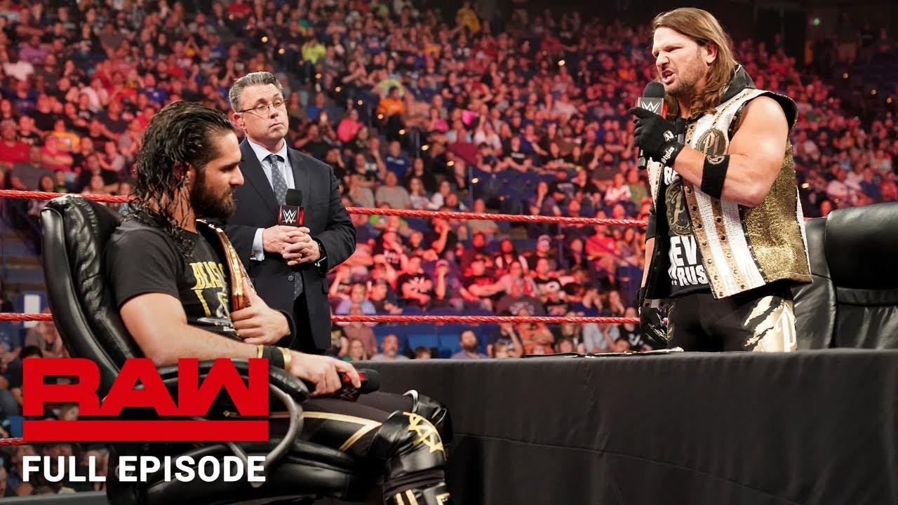 Download WWE Raw Full Episode, 29 April 2019