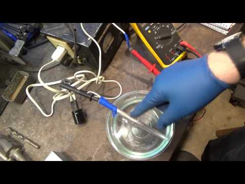 Making a Ring and Annodizing Titanium with Electricity DANGEROUS
