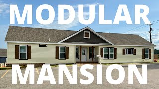 """Wow, this modular home is a """"MANSION!!"""" Large & Charming! Mobile Home Masters Tour"""