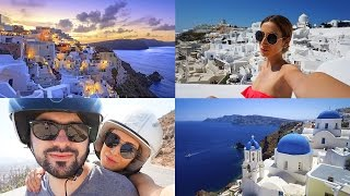 SANTORINI GREECE | TRAVEL VLOG(Instagram & SnapChat: @nikiskyyy My Hair Channel: http://www.youtube.com/FancyHairTutorials The island of Santorini in Greece is truly everything you see in ..., 2016-10-19T01:09:11.000Z)