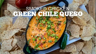 Green Mountain Grills Recipes | Smoked Chicken Queso