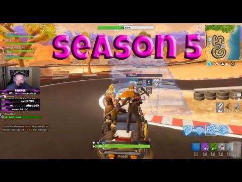 Fortnite funny moments KART PLAY SEASON 5