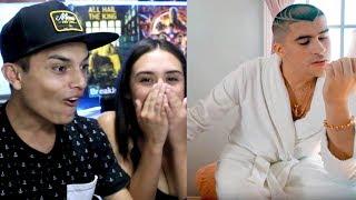 REACCIONO a BAD BUNNY🔥CARO!!💲😎 ( Video Oficial ) X100PRE - Themaxready