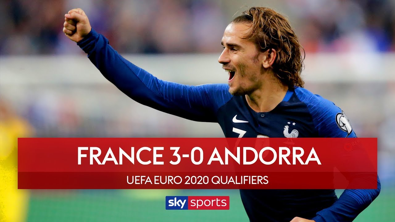 Griezmann misses pen as France defeat Andorra! | France 3-0 Andorra | UEFA Euro 2020 Qualifiers
