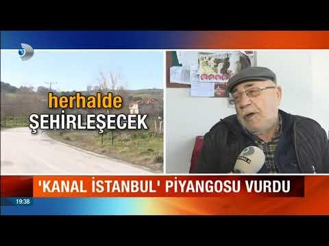 Kanal İstanbul piyangosu Arnavutköy'e vurdu