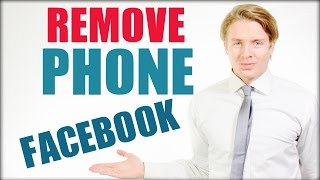 How To Remove Phone Number From Facebook - 2016