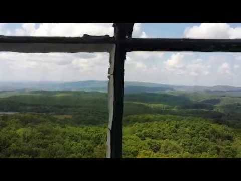 When Pickles Fly : Fire Tower Flat Top, WV :
