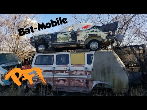 We Found a Bat-mobile for a Burnout Car!