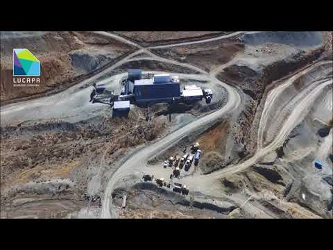 Lucapa Diamond - Lulo and Mothae Site Tours