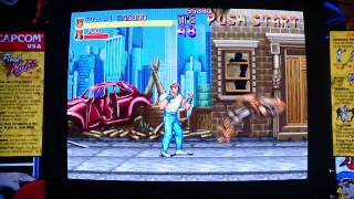 Final Fight: Double Impact - 1st Stage Perfect Clear