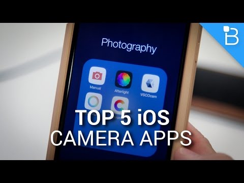 Top 5 Camera Apps for iOS - Edit Photos Like a Pro