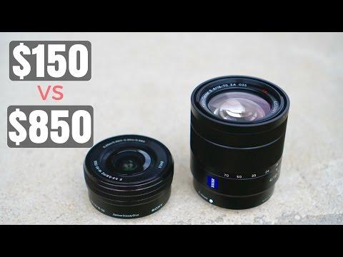 Sony 16-50mm Kit Vs 16-70mm Zeiss Comparison