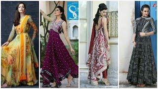 Latest Stylish long kurti, long maxi dress, long gown dresses collection