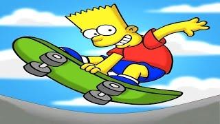 desenho os simpsons em portugues completo 2017 desenho bart simpson skate
