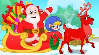 Jingle Bells Christmas Songs with My Magic Pet Morphle and Santa! Christmas Nursery Rhymes