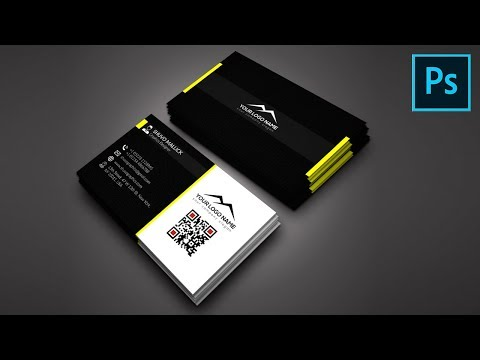 Amazing Business Card Design | Photoshop CC 2019 Tutorial | Shuvo Graphics thumbnail