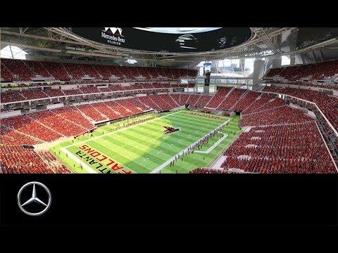 Das neue Mercedes-Benz Stadion in Atlanta