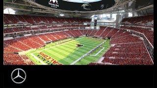 Das neue Mercedes-Benz Stadion in Atlanta.