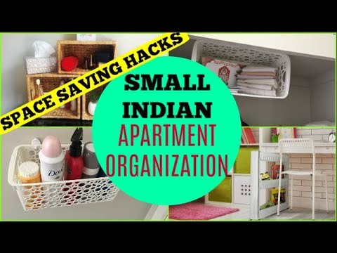 Small Indian apartment / home organization part 1 | Tips and ideas to create space in a small place