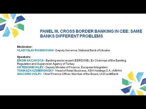 Panel III. IV CEE Investment Conference