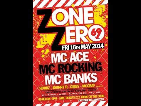 Dj Johnny D Mc Massive & GFB @ Zone Zero 16.05.2014