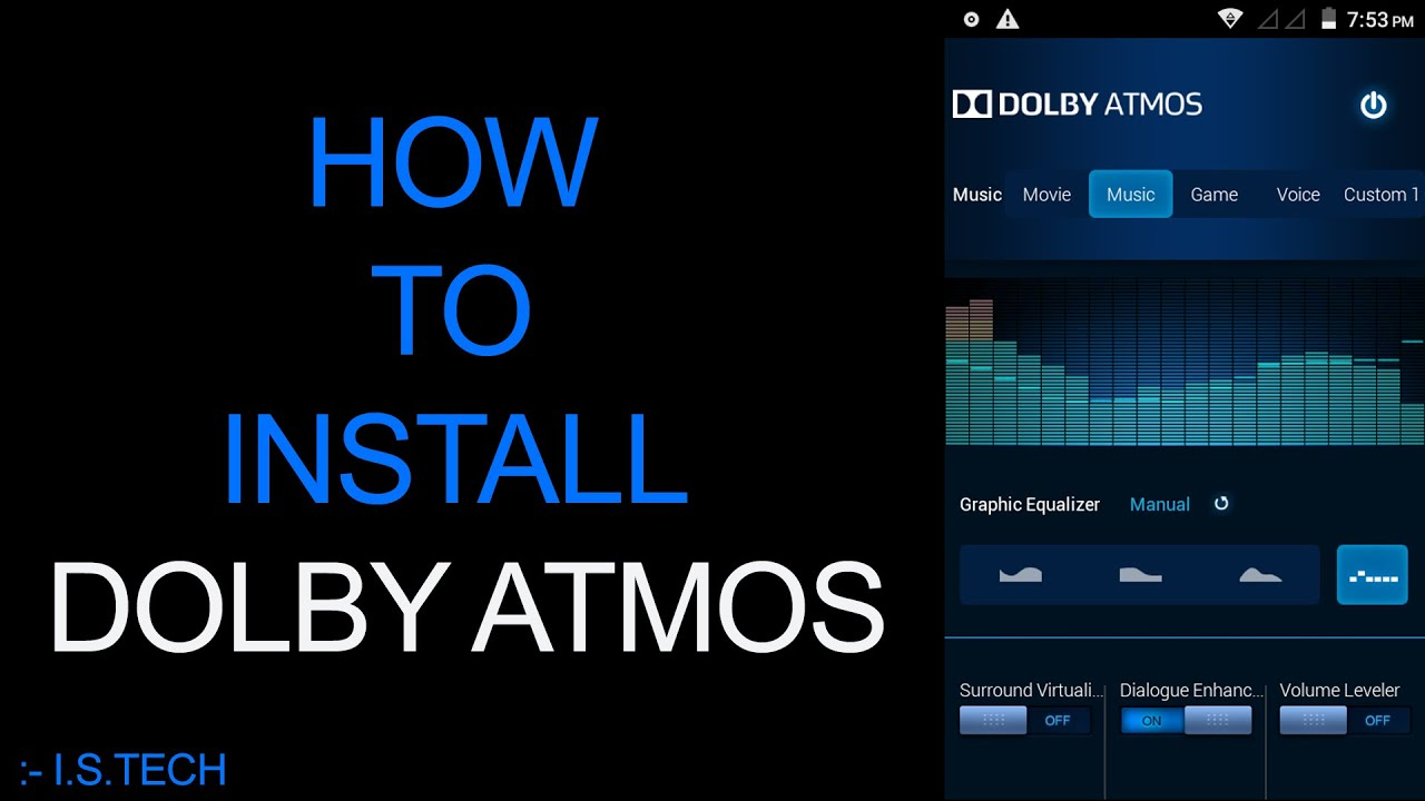 How to install Dolby Atmos Android Kitkat /Lollipop