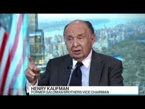 Henry Kaufman // Secular movement downward over