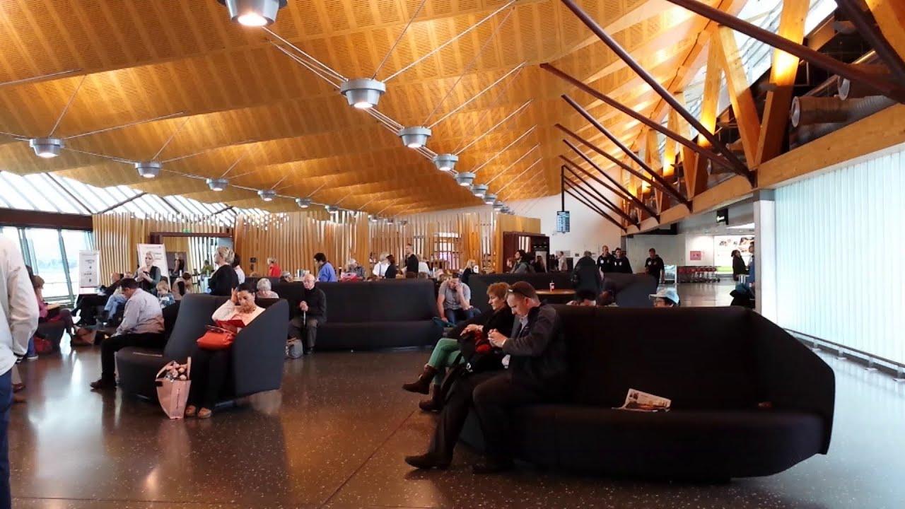 Christchurch Hd: An HD Tour Of Christchurch Airport (New Zealand), November