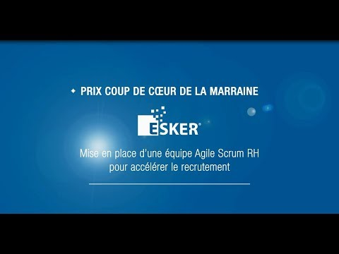 Prix RH édition Rhône-Alpes-Auvergne | Prix coup de cur de la marraine : ESKER