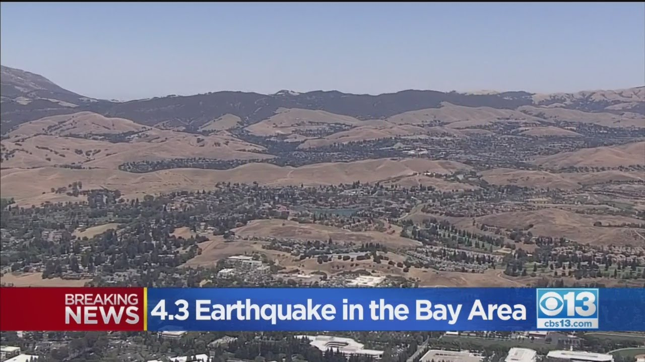 San Francisco Bay Area rattled by 4.5 earthquake