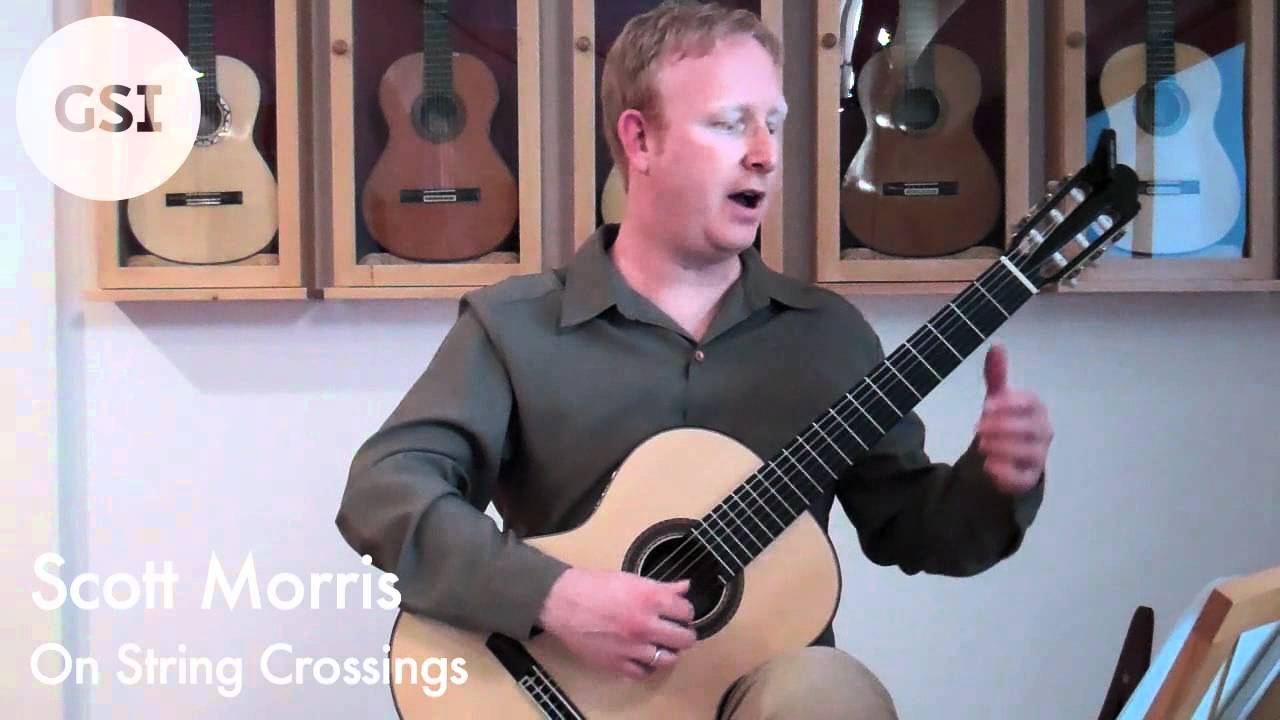 Scott Morris Video Lesson - String Crossing