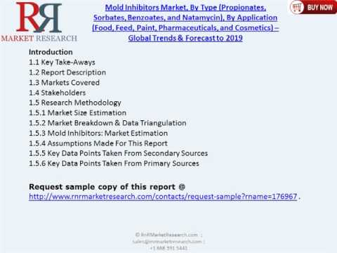 Mold Inhibitors Market Forecast to 2019