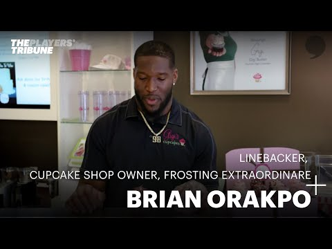 Brian Orakpo: Linebacker, Cupcake Shop Owner, Frosting Extraordinaire | The Players' Tribune
