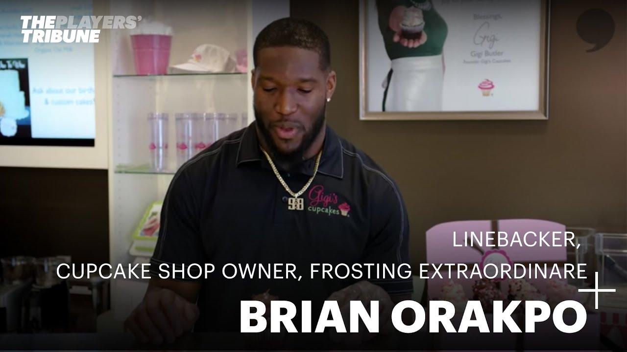 New Brian Orakpo: Linebacker, Cupcake Shop Owner, Frosting  supplier
