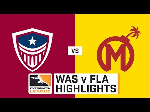 HIGHLIGHTS Washington Justice vs. Florida Mayhem | Stage 1 | Week 5 | Day 2 | Overwatch League thumbnail