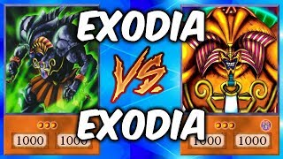 EXODIA vs EXODIA! (Crazy Yugioh Draw Power!)
