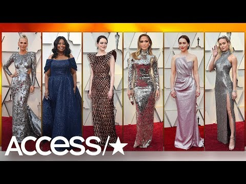 Oscars 2019 Red Carpet Trends: Sparkles, Pink & More! | Access