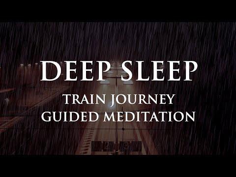 Guided Sleep Meditation - The Train To Deep Sleep